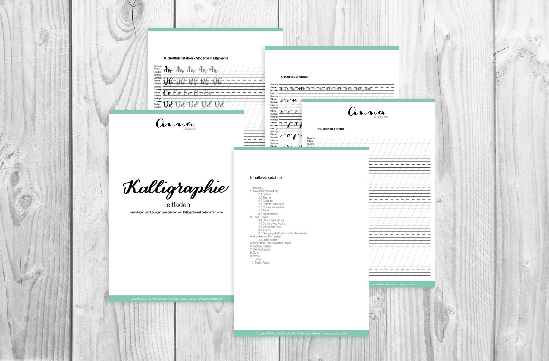 Kalligraphie-Leitfaden – annakalligraphie