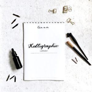 Lerne Kalligraphie mit dem Starter Set